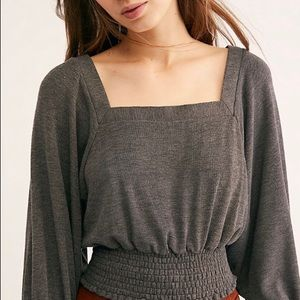 Free People Golden Tee NWT